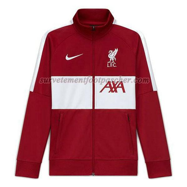 coupe-vent de liverpool 2020-2021 homme - rouge