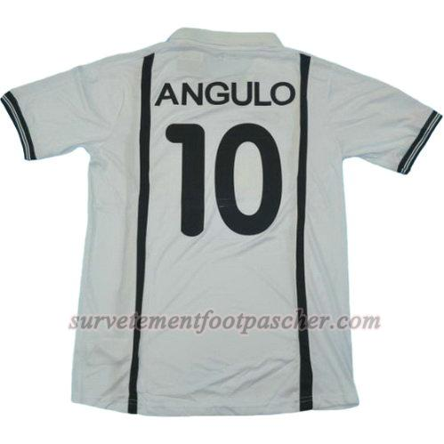 domicile maillot de valence cf ucl 2001 angulo 10 homme - blanc