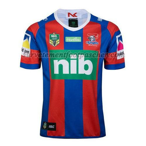 domicile maillot rugby de newcastle knights 2018 homme - rouge