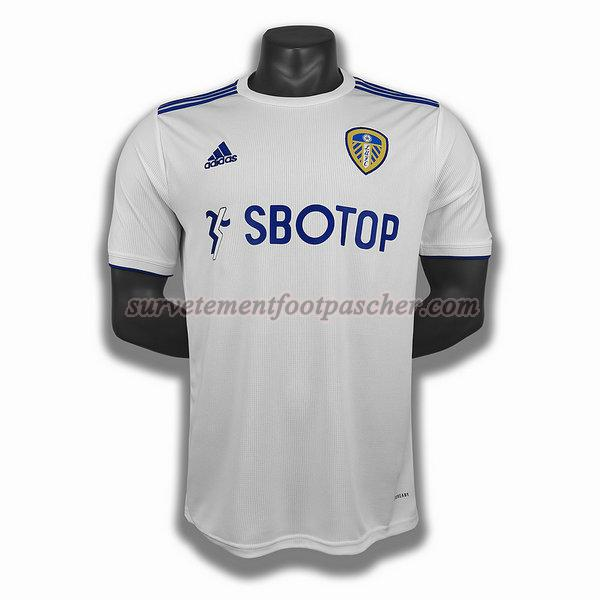 domicile player maillot de leeds united 2020-2021 homme -